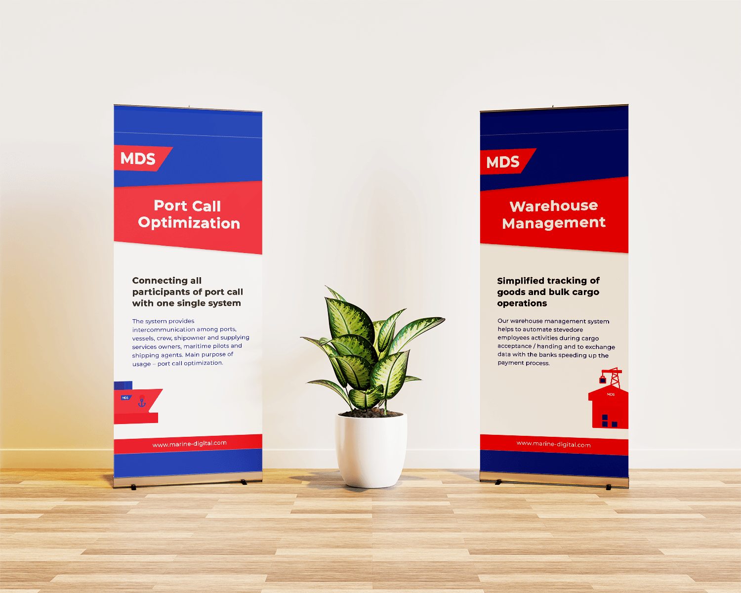 MDS – Roll up banners