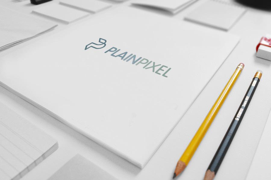 PlainPixel – Logo Design